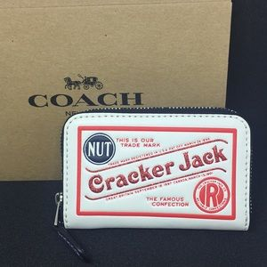 Limited edition Coach Cracker Jack ID/Coin Wallet